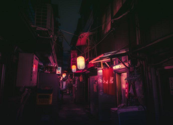 Чайна таун ночь город