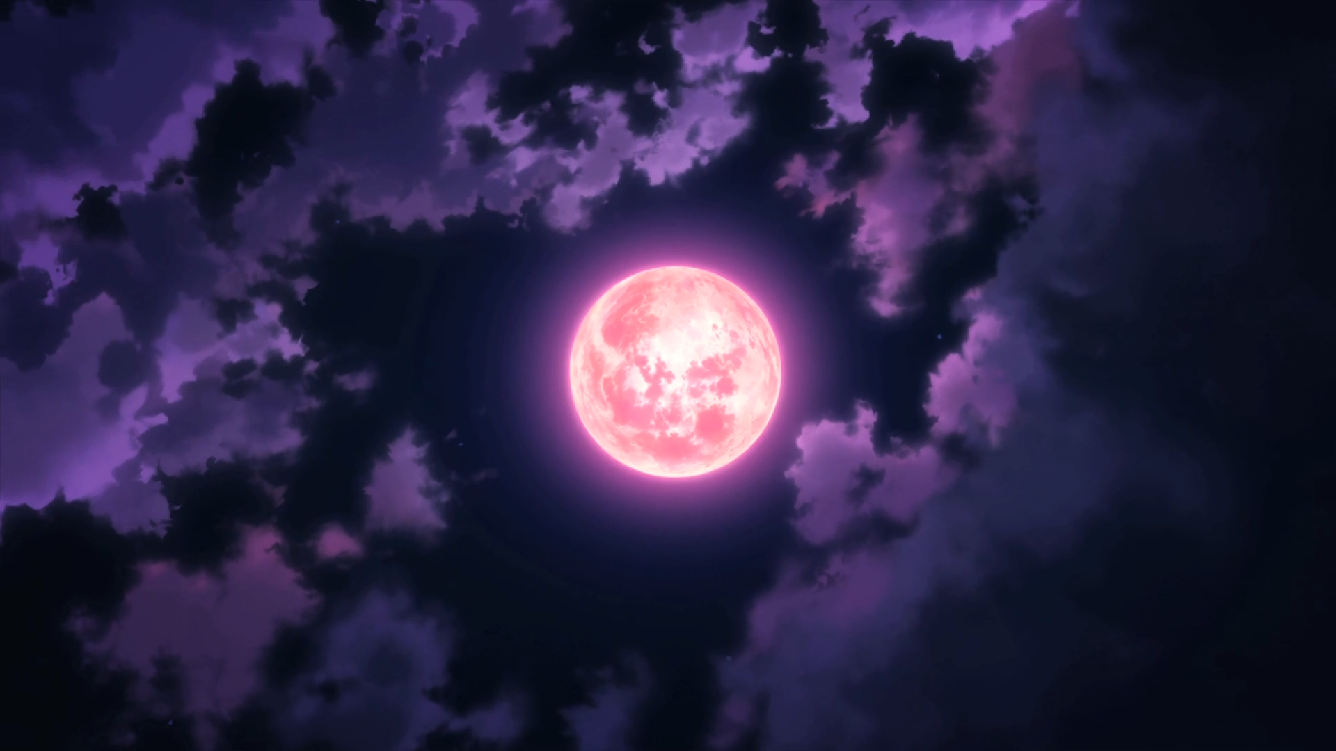Полнолуние ночь луна