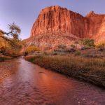 Горная река река горы