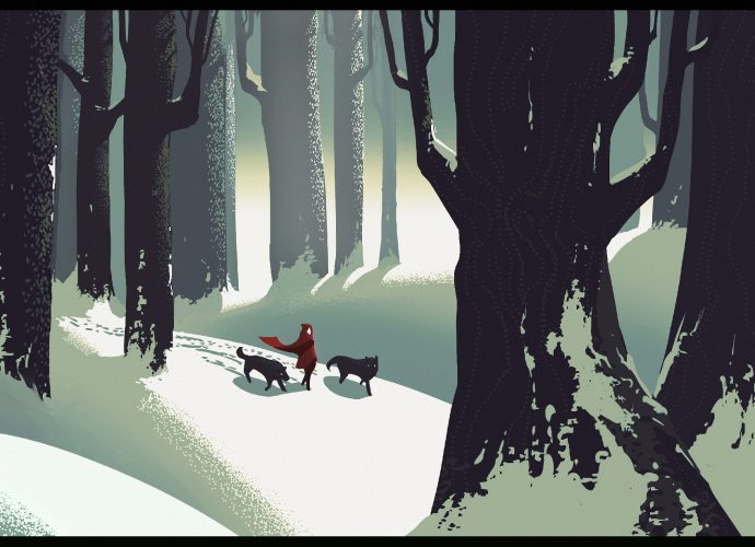 Красная шапочка и волки красная шапочка девушка волк