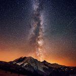 Млечный путь в горах млечный путь звезды горы