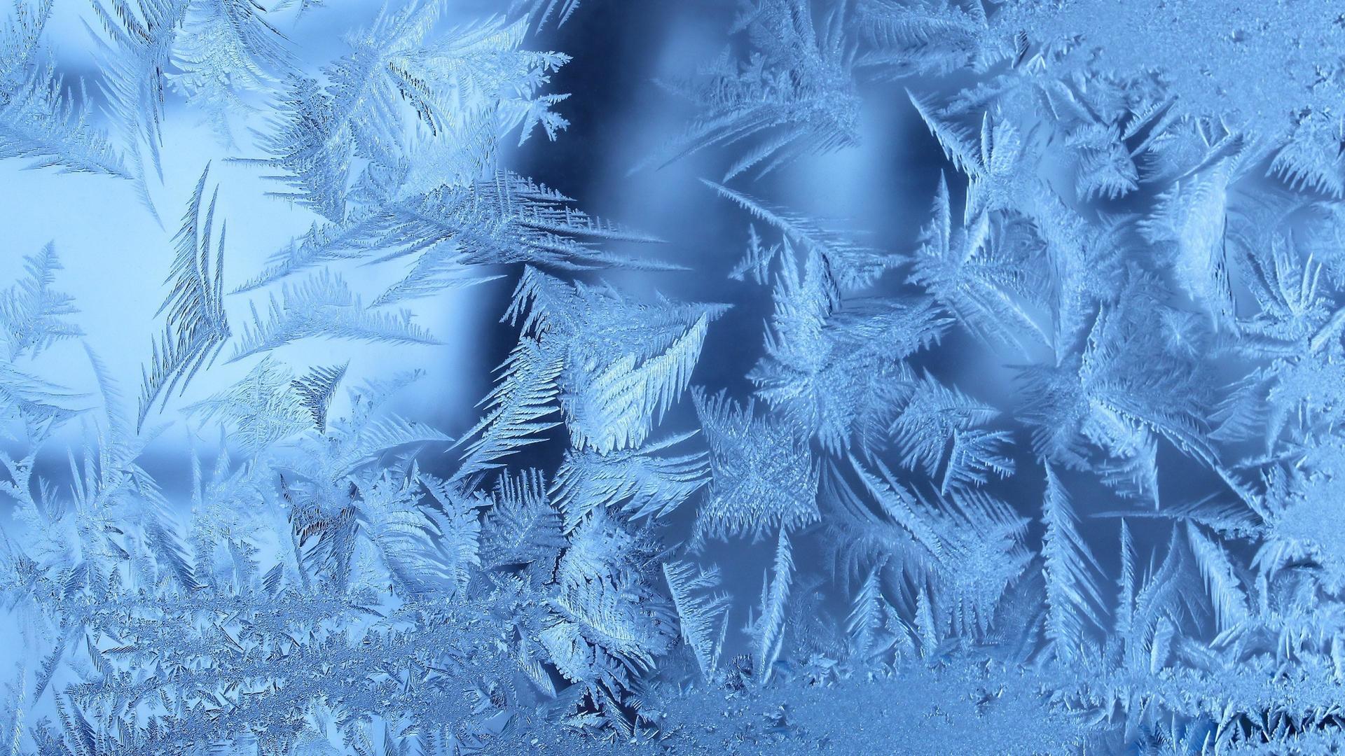 Морозные узоры зима
