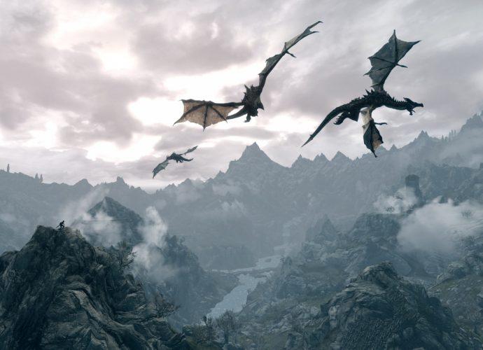 Полет драконов дракон горы