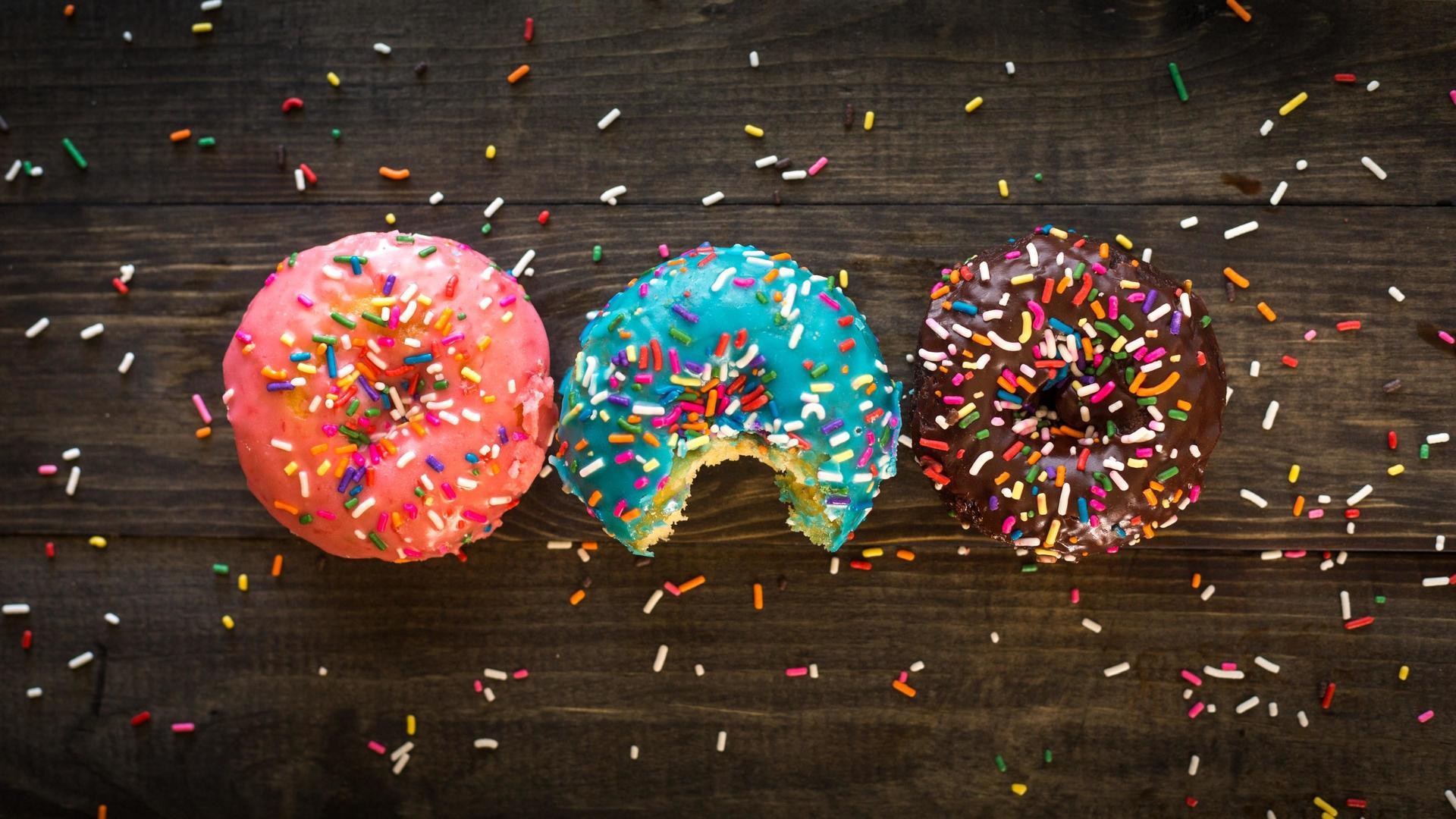 Пончики сладости пончики