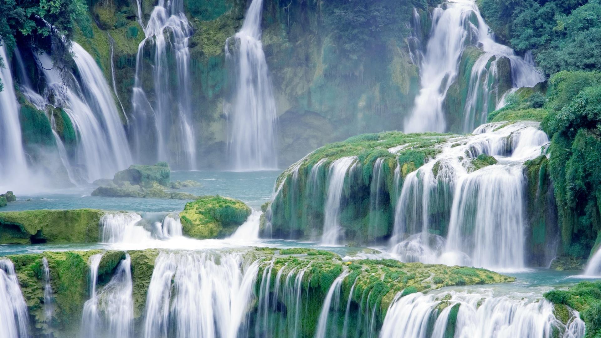 Водопад водопад