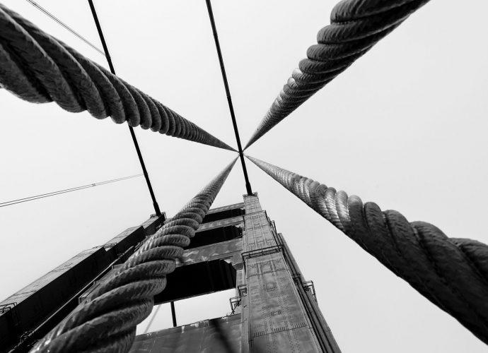 Опора моста мост
