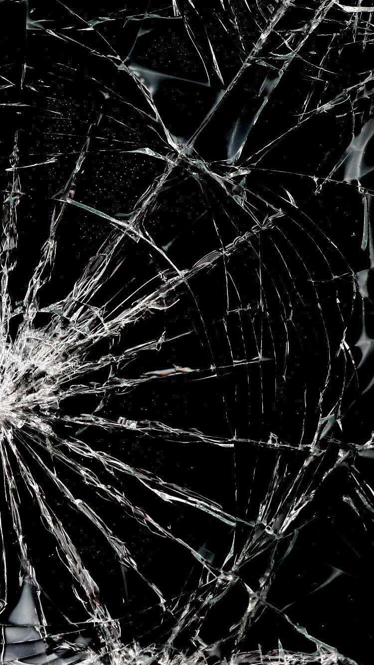 Разбитое стекло стекло