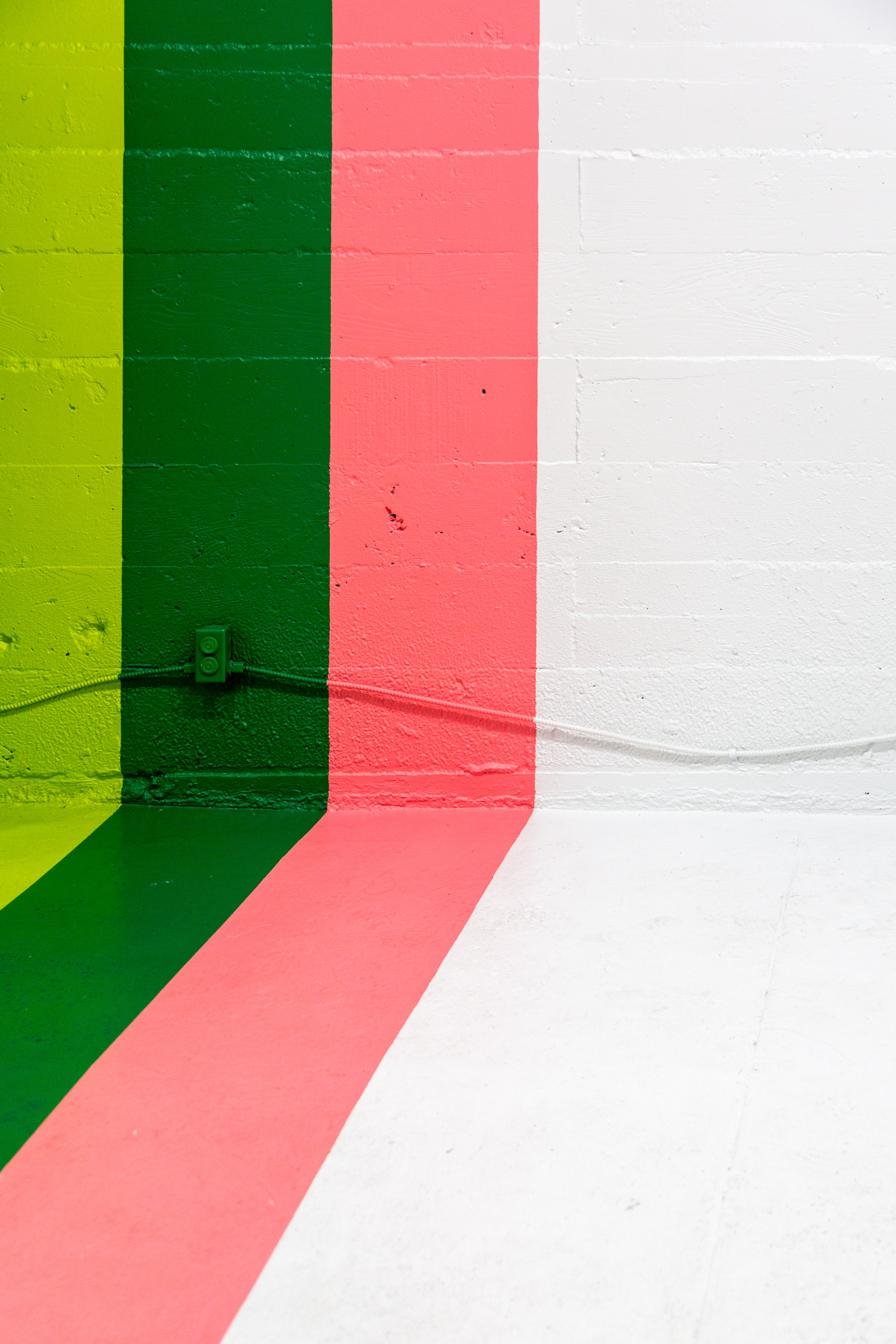 Красочные стены краски