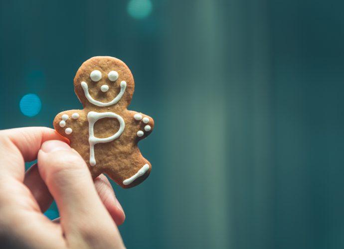 Пряничный человечек Рождество печенье Новый Год