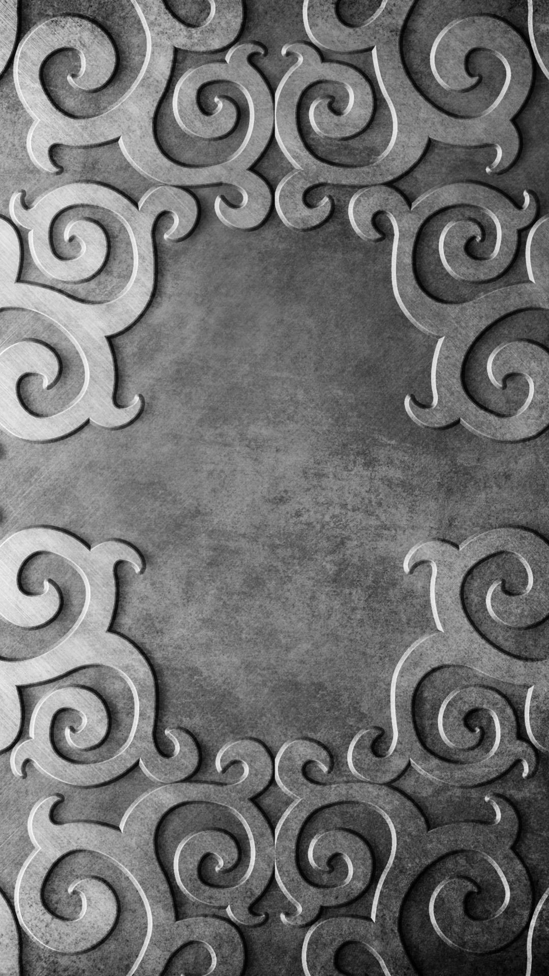 Серебряный орнамент орнамент металл