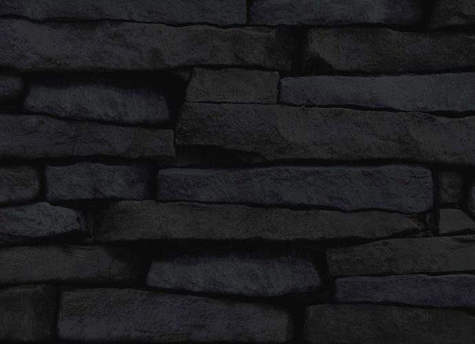 Стена из сланца камень