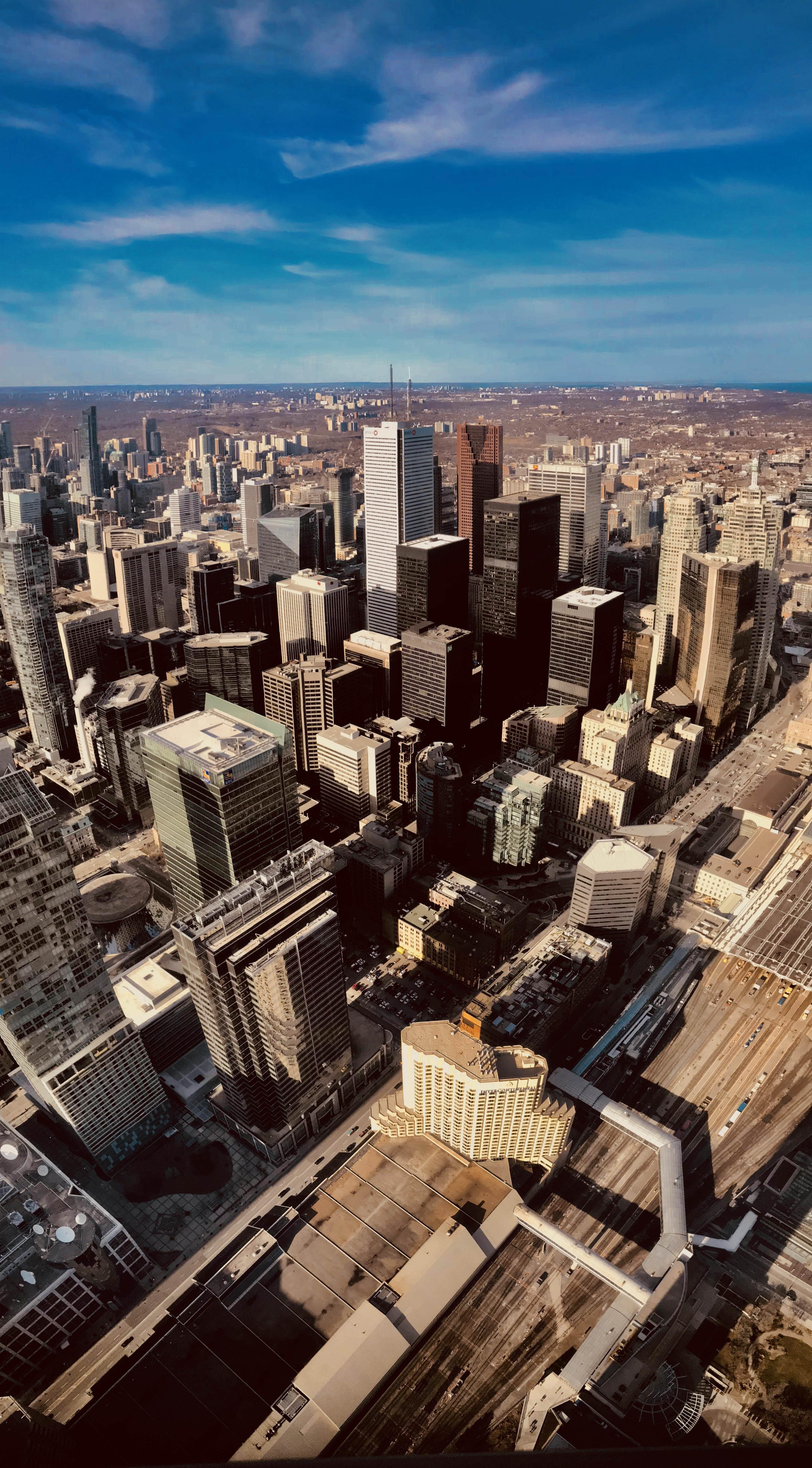 Небоскребы небоскребы город