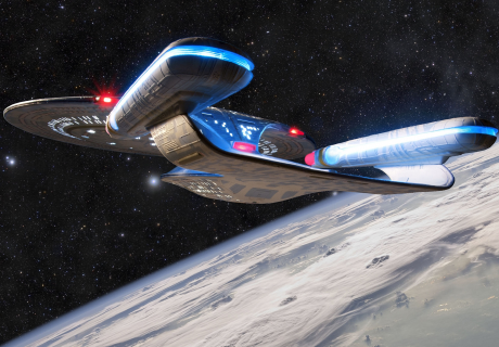 USS Enterprise Startrek