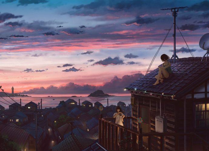 Уют небо море закат вечер