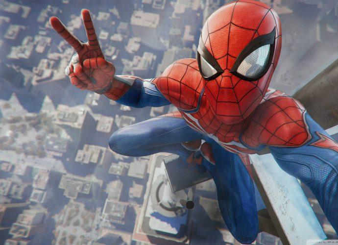 Человек-паук человек-паук небоскребы