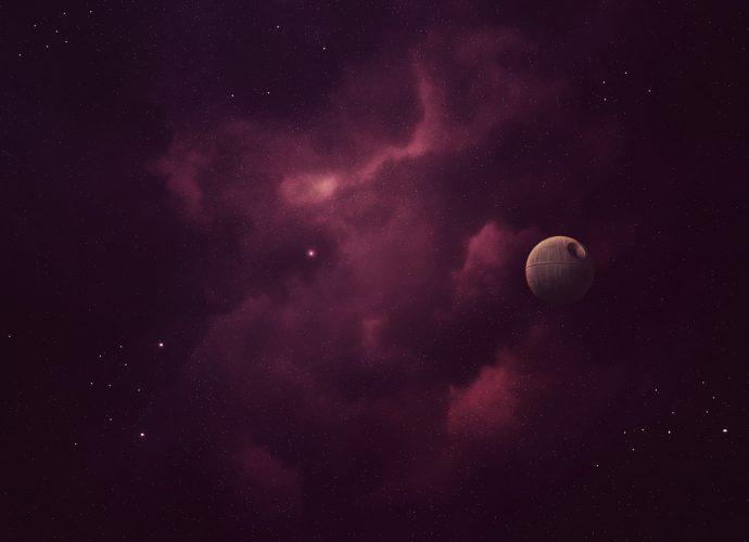 Звезда смерти космос звезды Звездные войны
