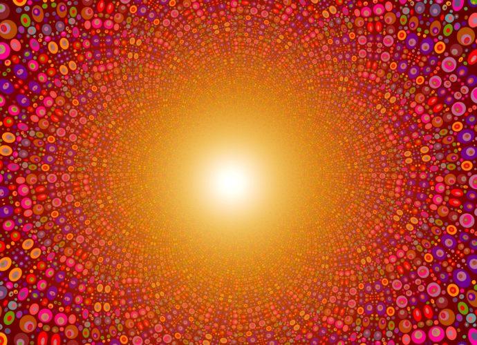 Цветные круги цвет