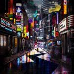 Детектив Пикачу покемоны пикачу ночь город