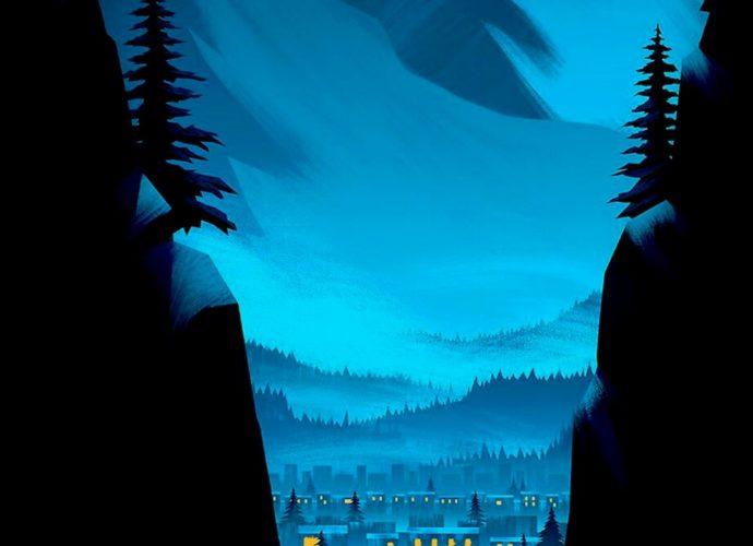 Ночь в лесу ночь лес звезды горы