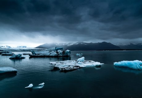 Ледники океан море лед зима айсберг