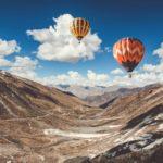Ладакх, Индия небо Индия горы воздушный шар