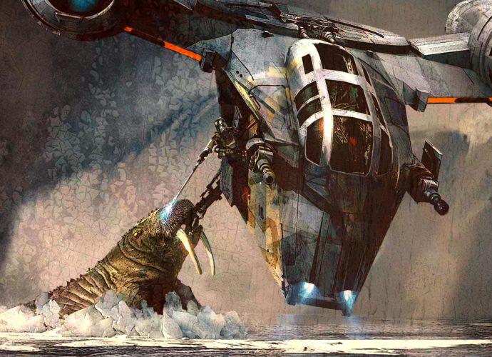 Мандалорец мандалорец космос йода Звездные войны Star Wars