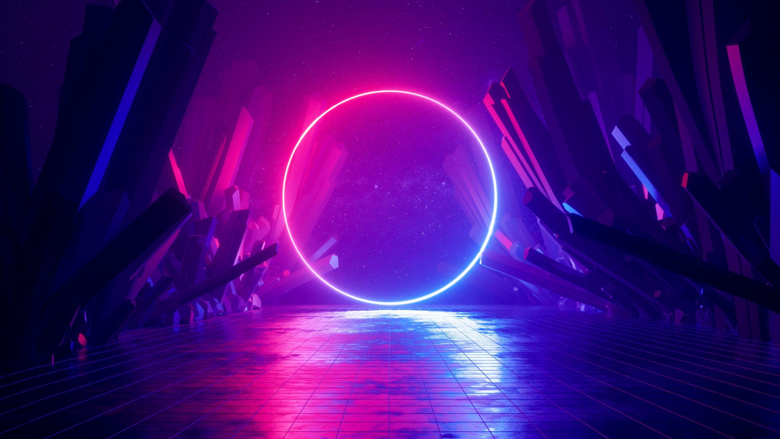 Ультрафиолет неон космос