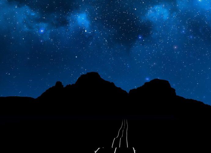 Ночная дорога ночь звезды дорога