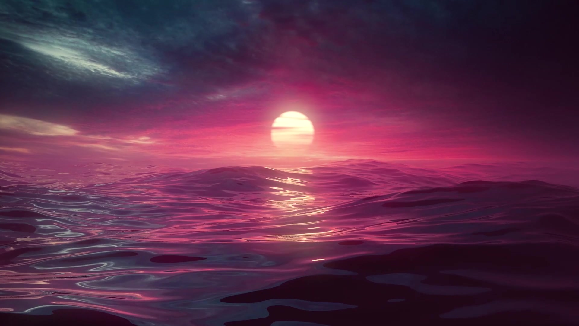 Океанский закат солнце океан закат вода