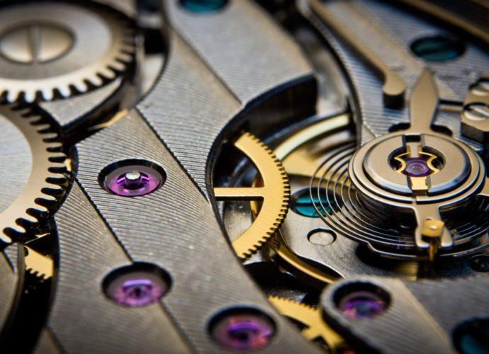 Шестерёнки шестерёнки часы механизм