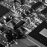 Процессор электроника черно-белое процессор компьютер