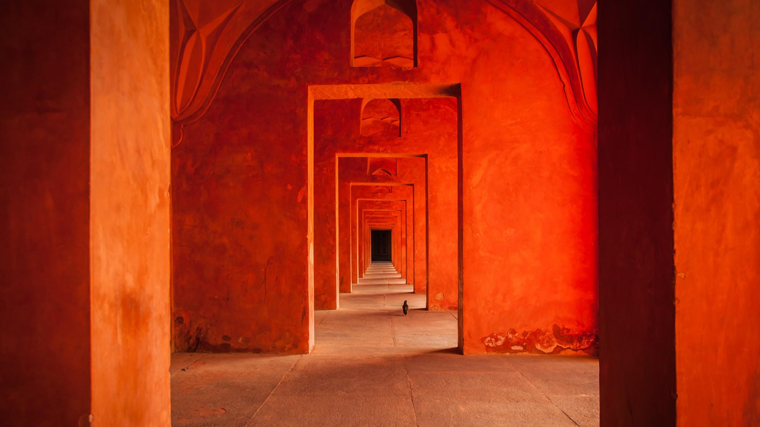 Оранжевый храм храм город