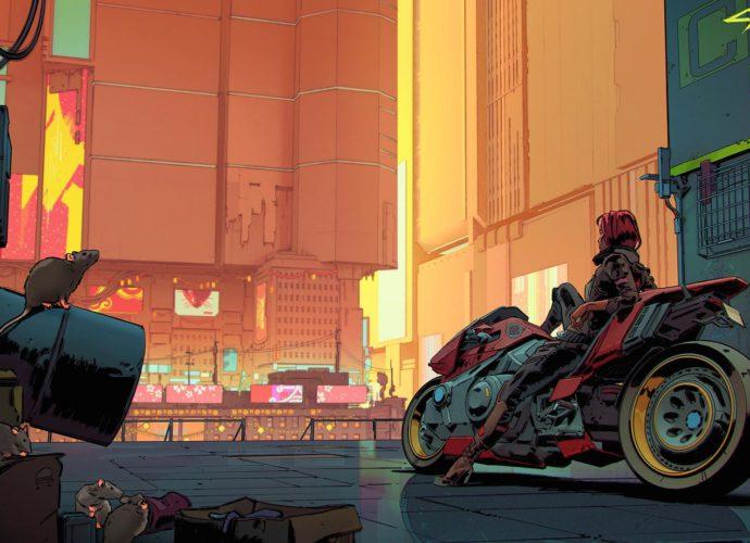 Киберпанк 2077 мотоцикл киберпанк Cyberpunk