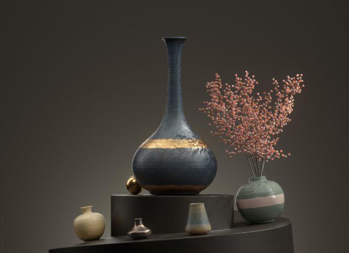 Натюрморт цветы ваза