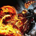 Призрачный гонщик призрачный гонщик огонь мотоцикл