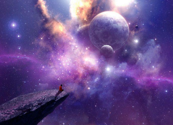 Космическая симфония планеты космос звезды