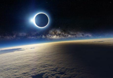 Затмение космос звезды затмение