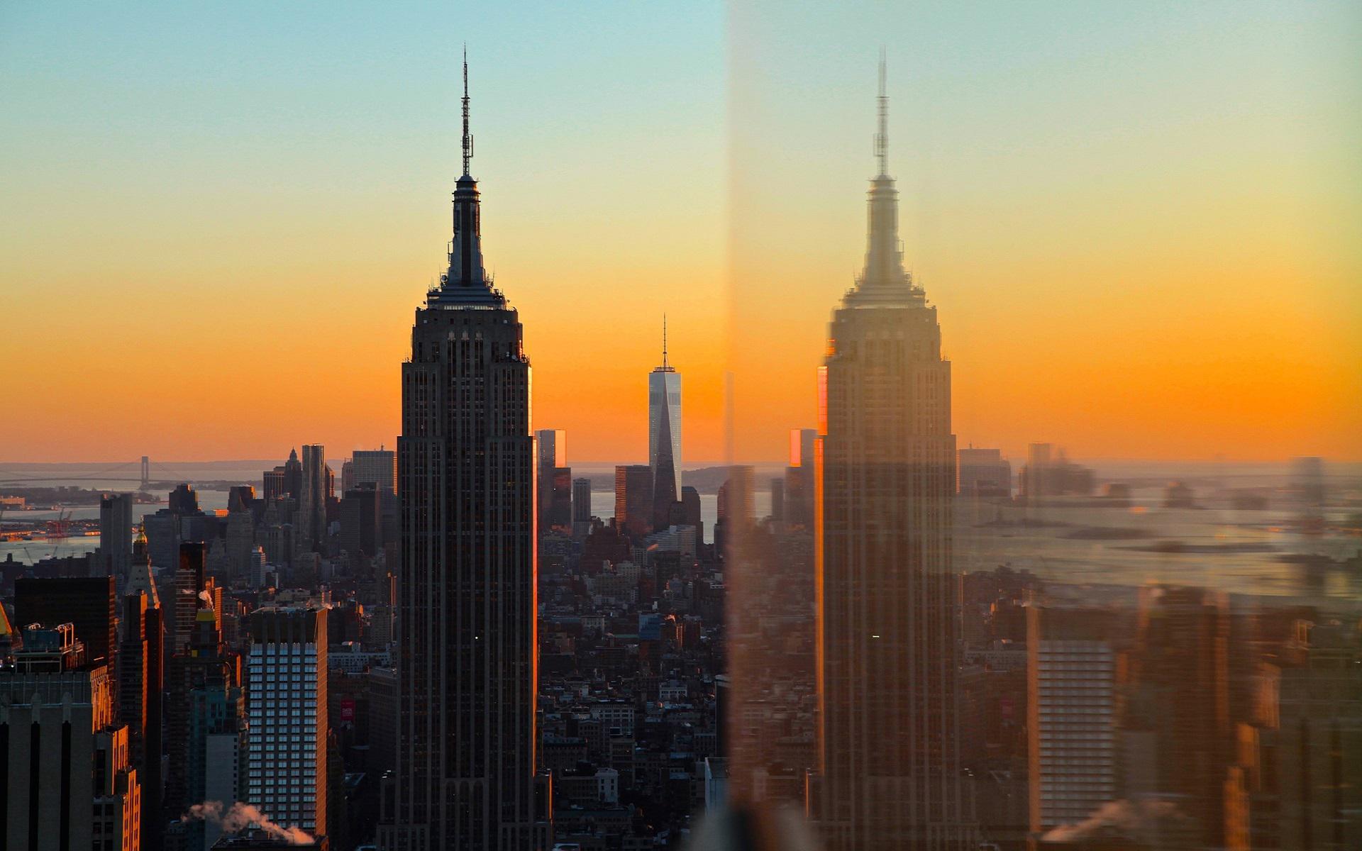 Эмпайр-стейт-билдинг Эмпайр-стейт-билдинг США Нью-Йорк