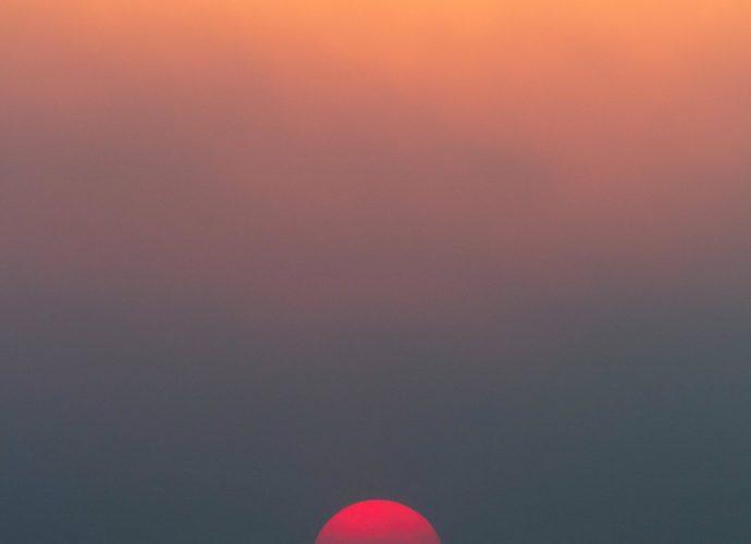 Закат над облаками солнце облака небо закат