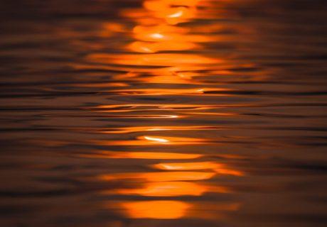 Закат в океан солнце океан море вода