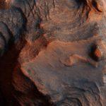 Поверхность Марса марс космос горы