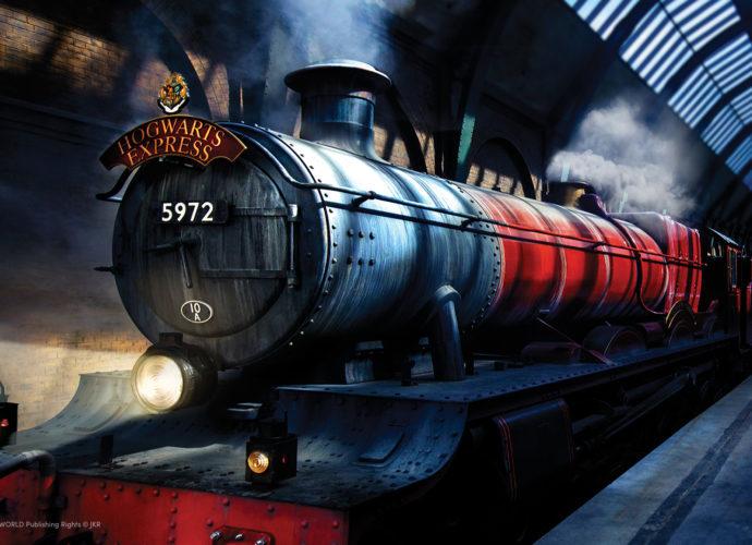 Хогвартс Экспресс Хогвартс поезд Гарри Поттер