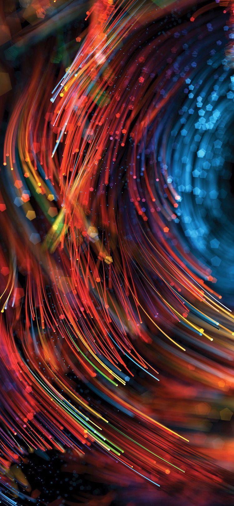 Игра света цвета ночь неон