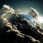 Рассвет из космоса рассвет облака космос земля
