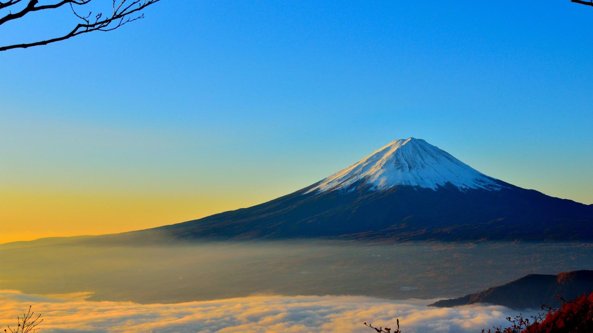 Гора Фудзияма Япония Фудзияма гора