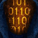 Двоичный код киберпанк