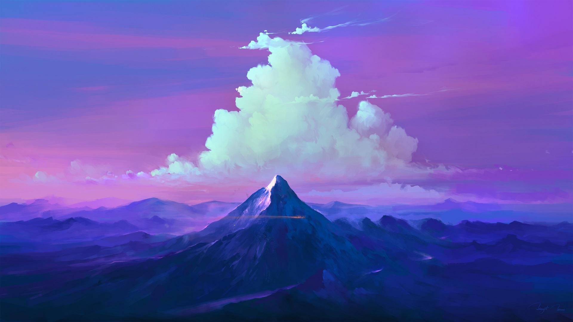 Облака в горах облака небо горы